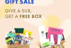 Vegan Cuts Last Minute Gift Sale: Get a FREE Box When You Gift or Subscribe To a 6+ Month Plan!