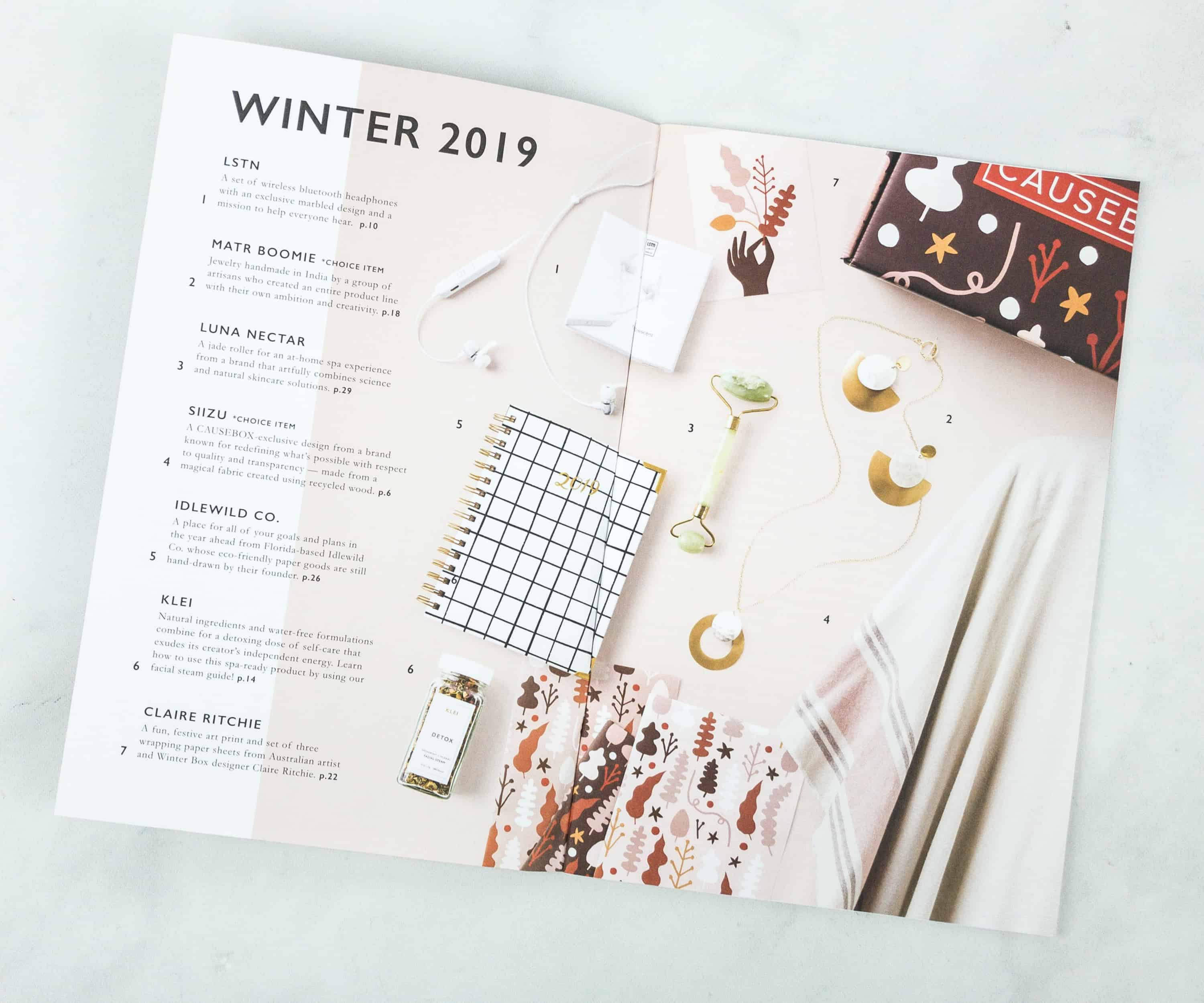 Causebox Winter 2018 Subscription Box Review Coupon Hello
