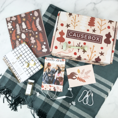 CAUSEBOX Winter 2018 Subscription Box Review + Coupon