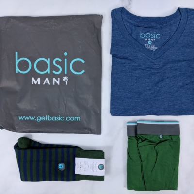 Basic MAN Subscription Box December 2018 Review + Buy One Get One FREE Coupon