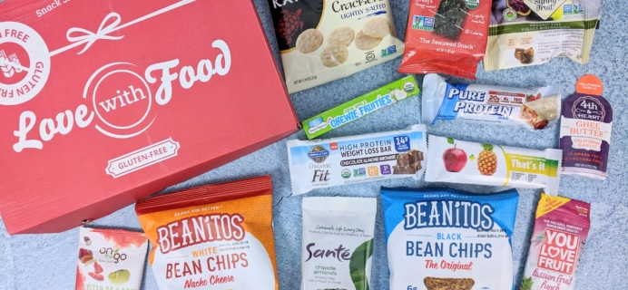 Love With Food Gluten-Free December 2018 Subscription Box Review + Coupon