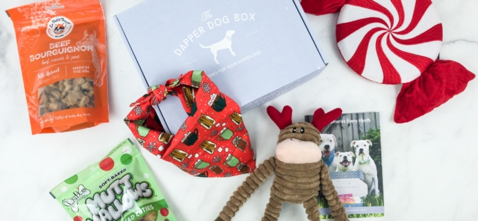 The Dapper Dog Box December 2018 Subscription Box Review + Coupon