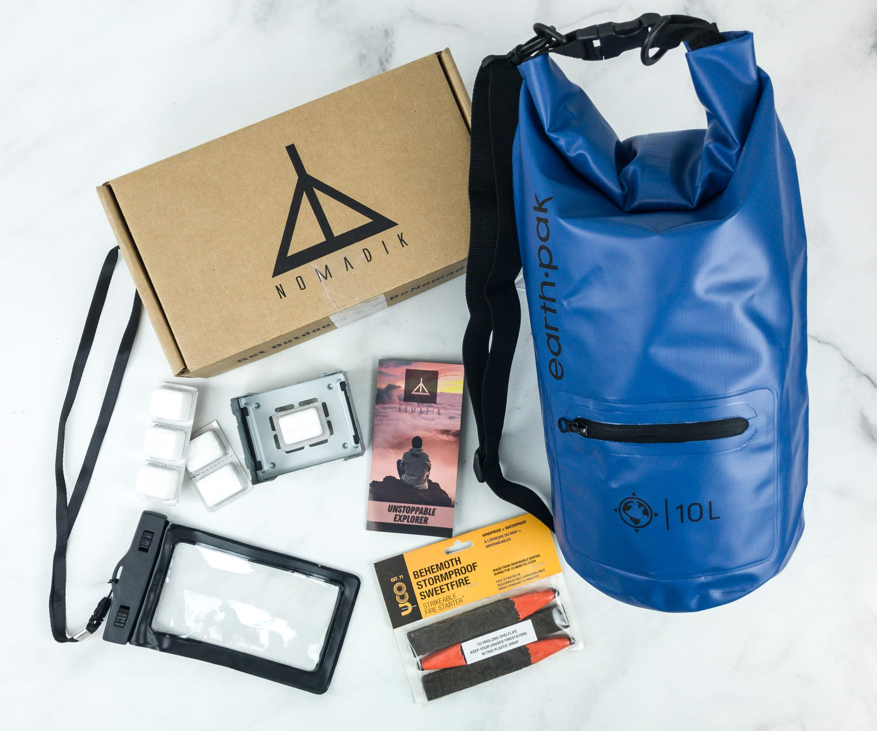 Nomadik November 2018 Subscription Box Review + Coupon