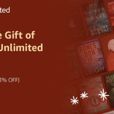 Kindle Unlimited Holiday Sale: Get 33% Off!