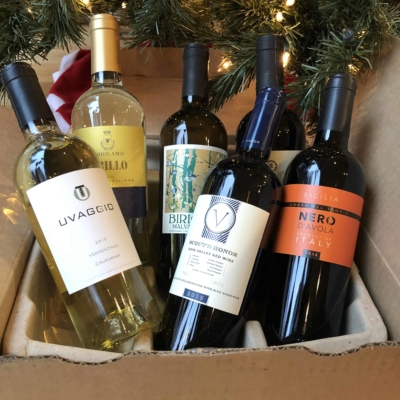 Blue Apron Wine December 2018 Subscription Box Review
