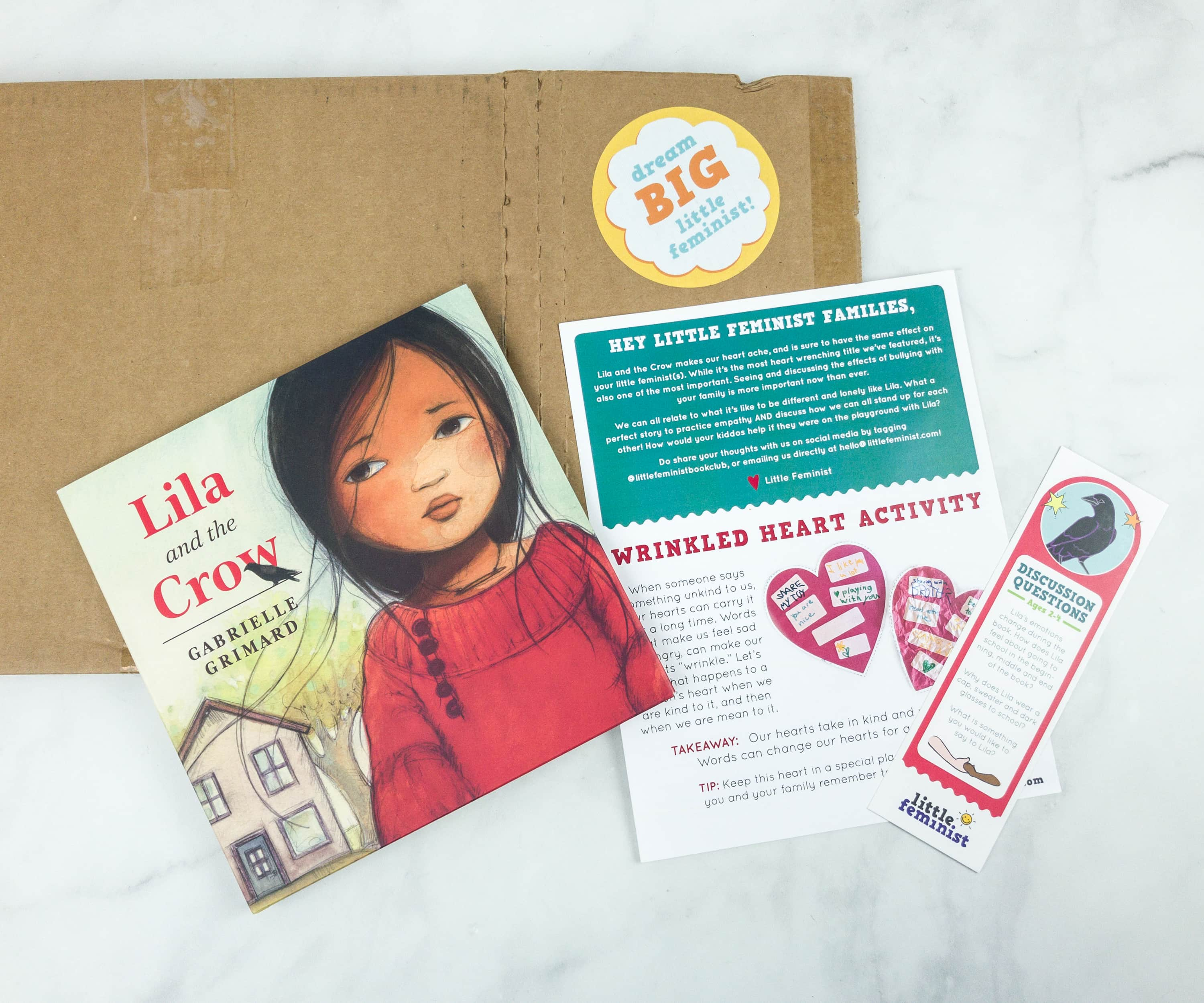 Little Feminist Book Club December 2018 Subscription Box Review + Coupon – 3-7 YEARS OLD