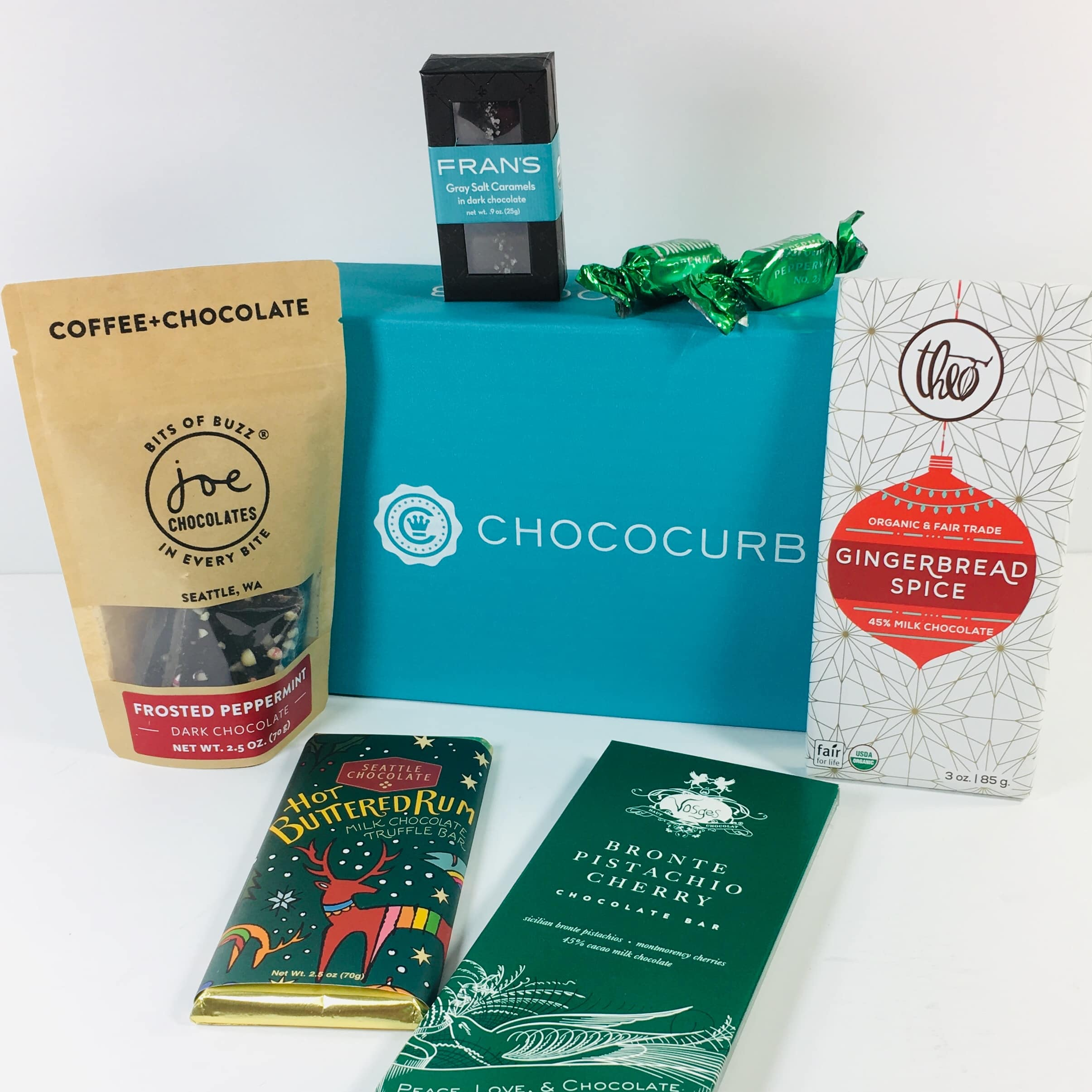 Chococurb Classic December 2018 Subscription Box Review