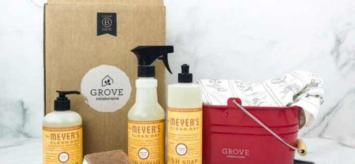 Grove Collaborative December 2018 Review & Coupon – Mrs. Meyer's Seasonal Scents