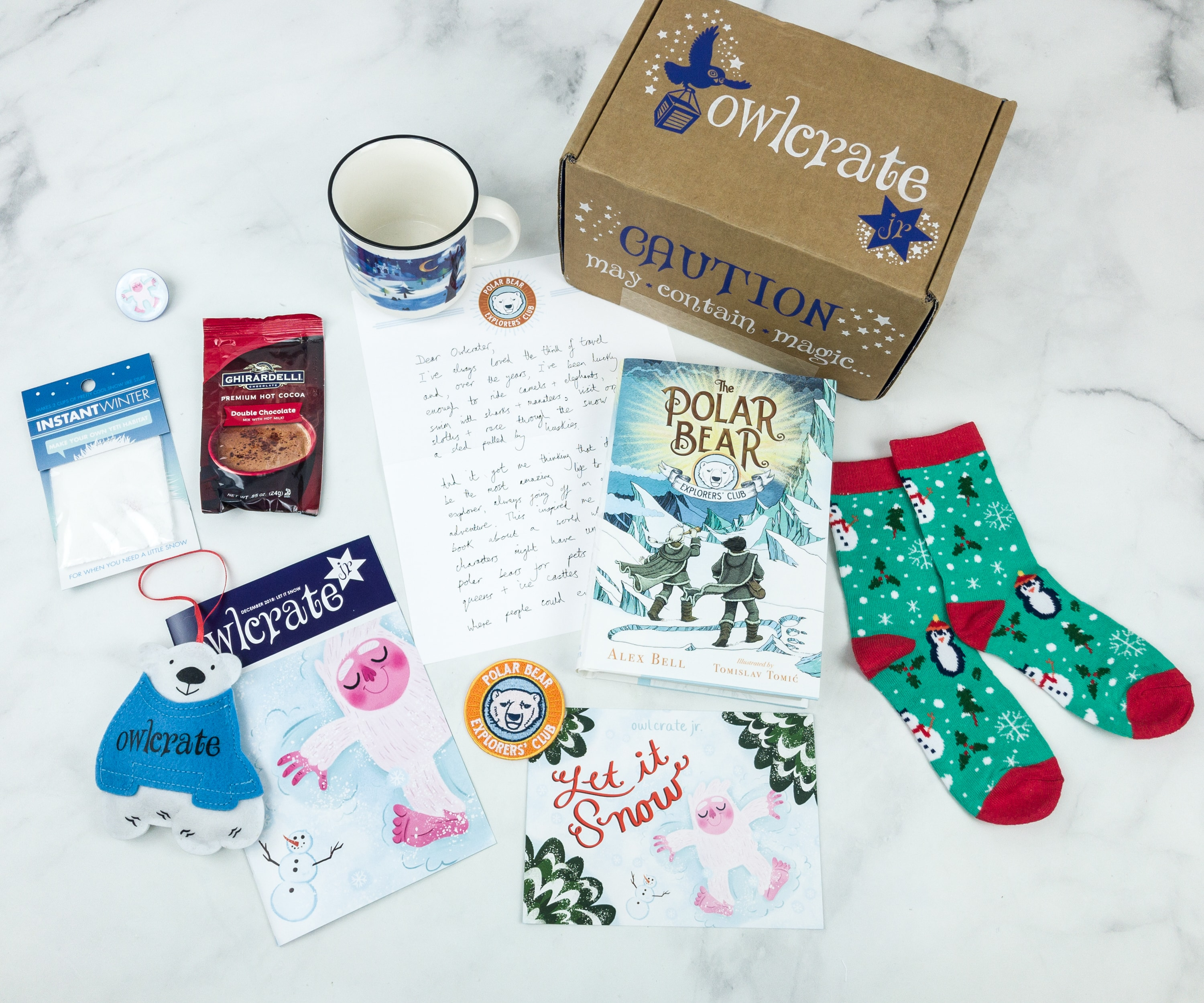 OwlCrate Jr. December 2018 Box Review & Coupon