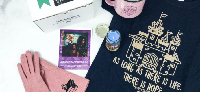 The Bookish Box December 2018 Subscription Box Review + Coupon