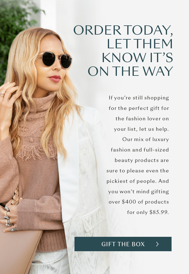 Box of Style by Rachel Zoe Coupon: Get $15 Off On Your First Box!