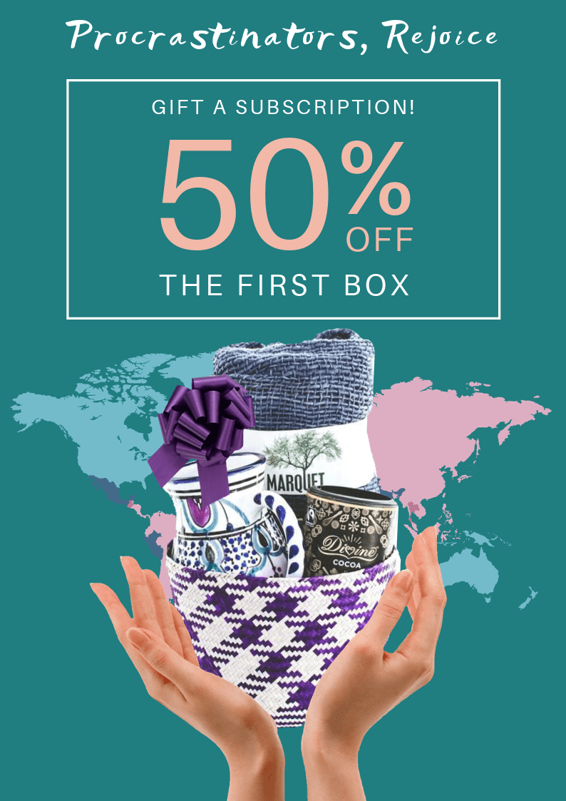 GlobeIn Last Minute Gift Sale: Get 50% Off On Gift Subscription!