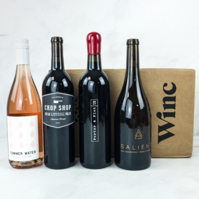 Winc December 2018 Subscription Box Review & Coupon