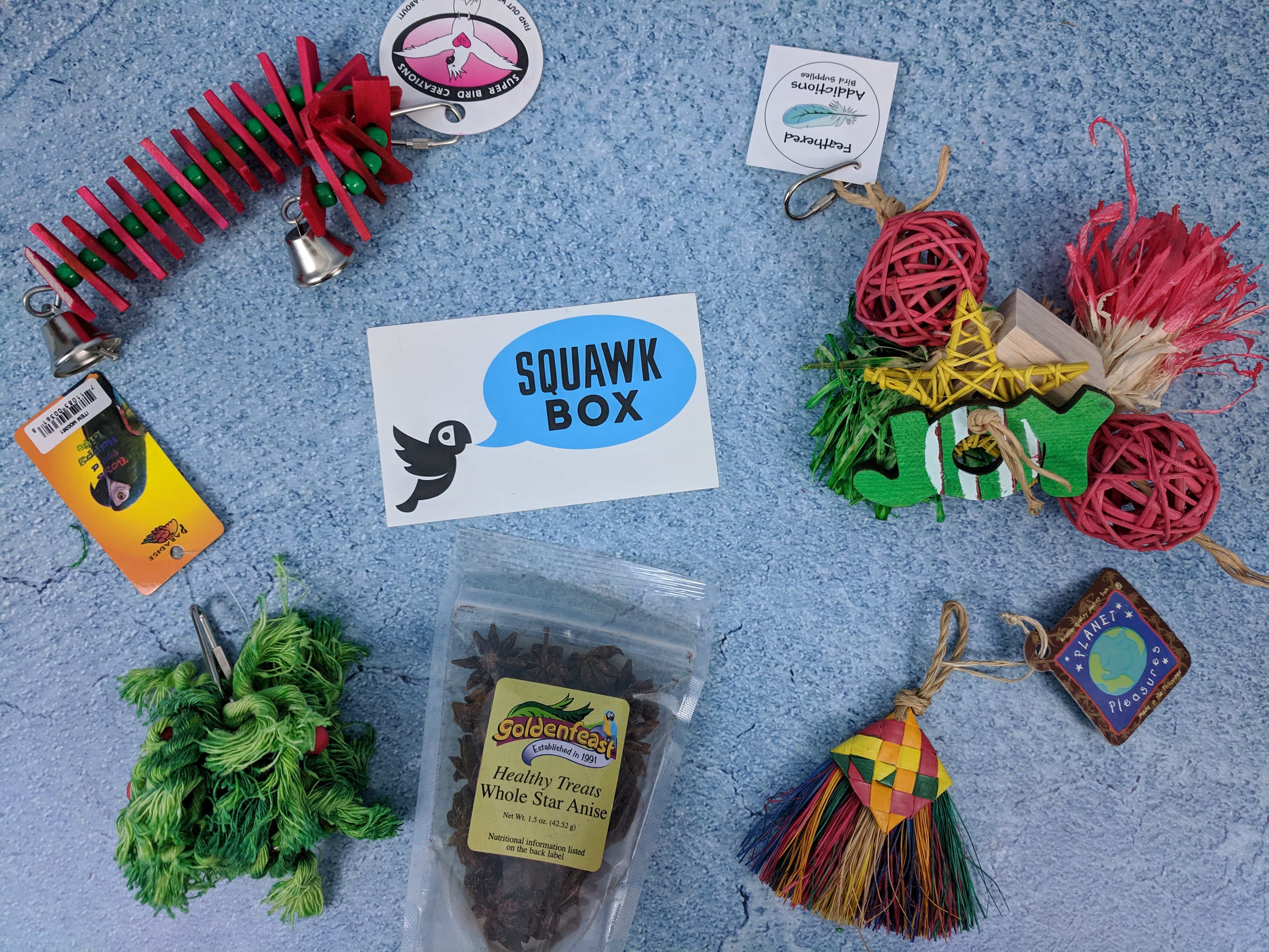 Squawk Box December 2018 Subscription Review