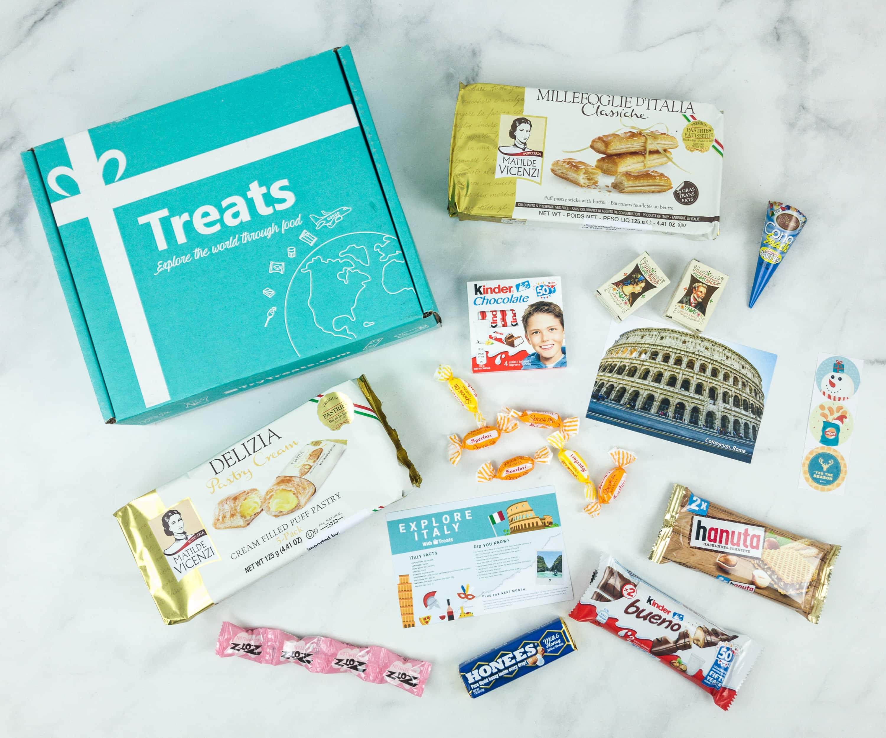 Treats Box December 2018 Review & Coupon