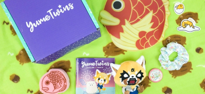 YumeTwins January 2019 Subscription Box Review + Coupon