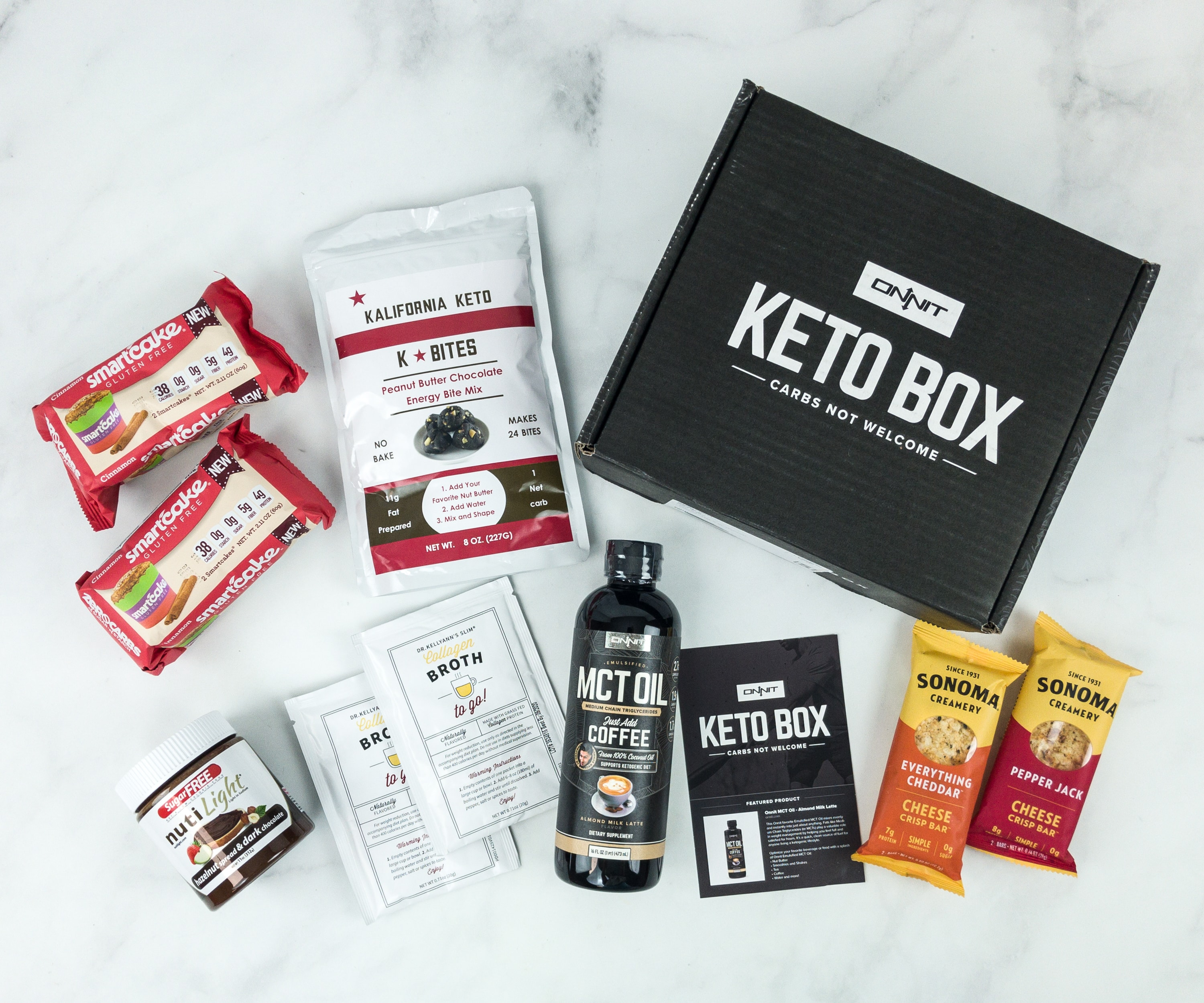 Onnit Keto Box December 2018 Subscription Box Review