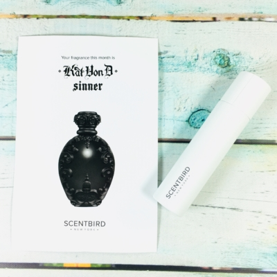 Scentbird Subscription Review & Coupon – January 2019