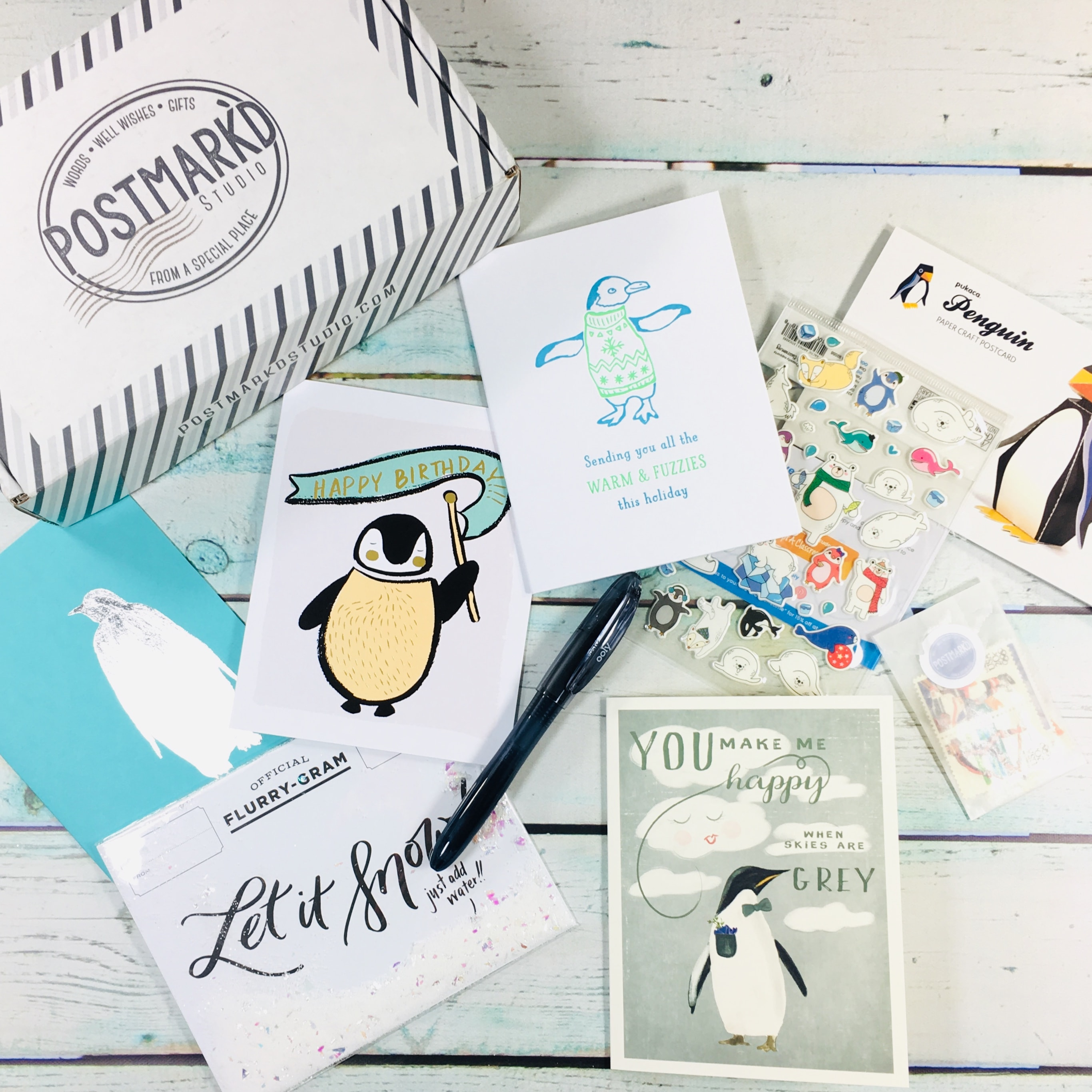 PostBox Subscription Box Review + Coupon – December 2018