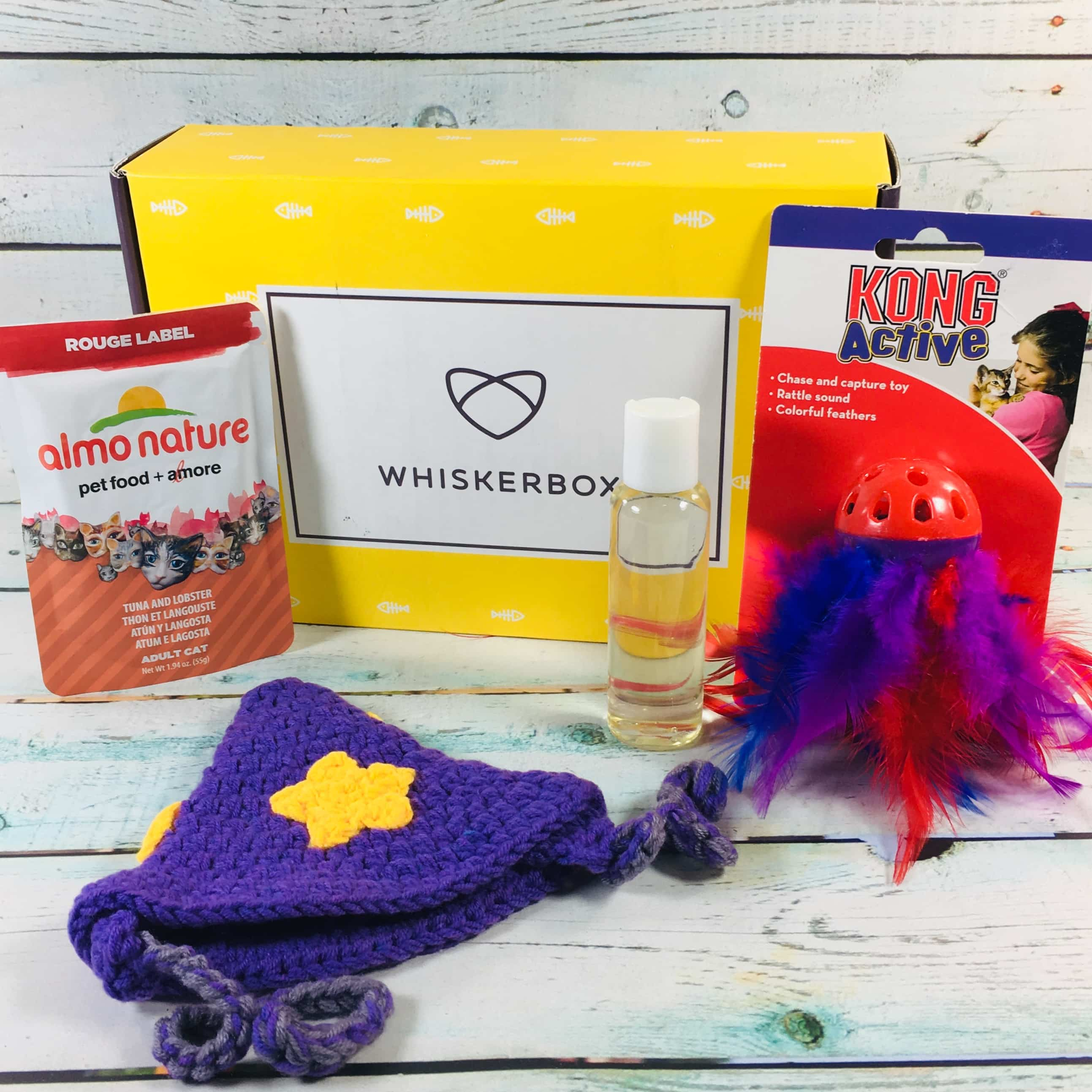 Whiskerbox November 2018 Subscription Box Review + Coupon