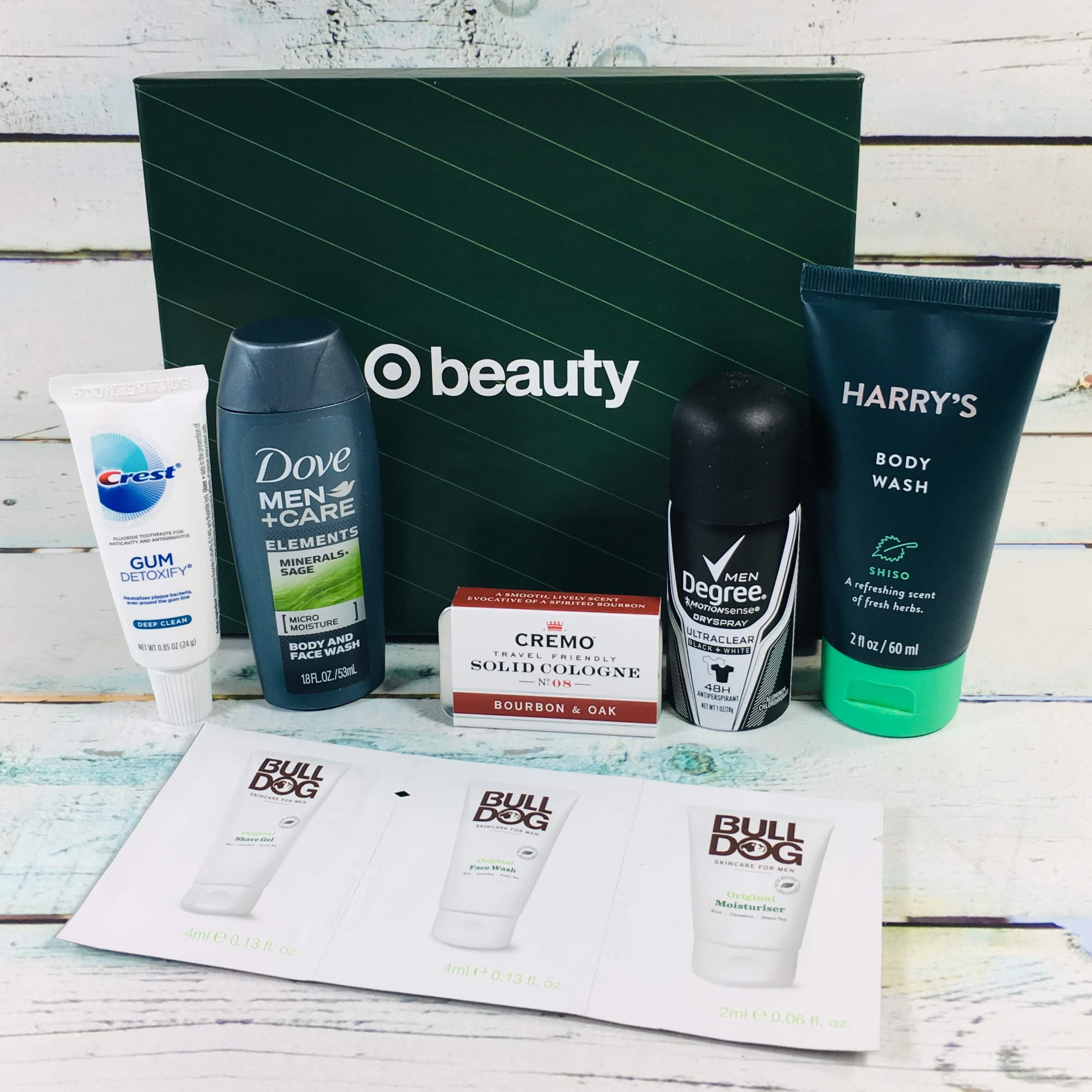 Target Beauty Box for Men Review December 2018