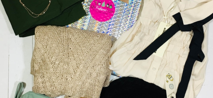 My Fashion Crate December 2018 Subscription Box Review