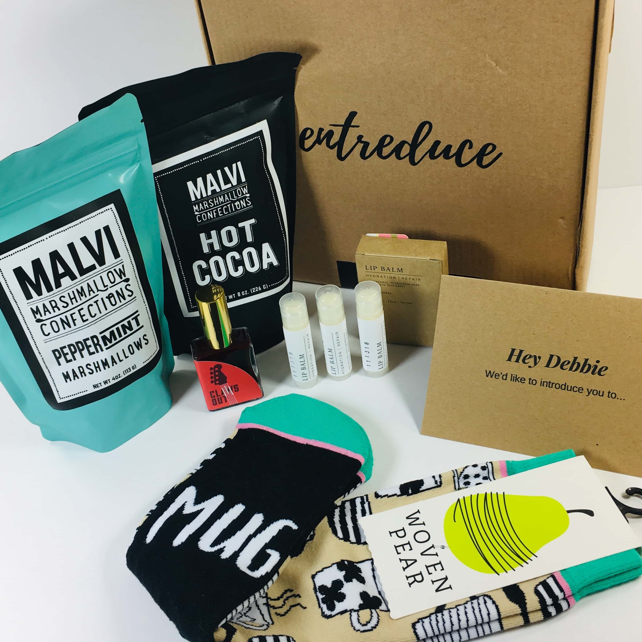 Entreduce December 2018 Subscription Box Review + Coupon!