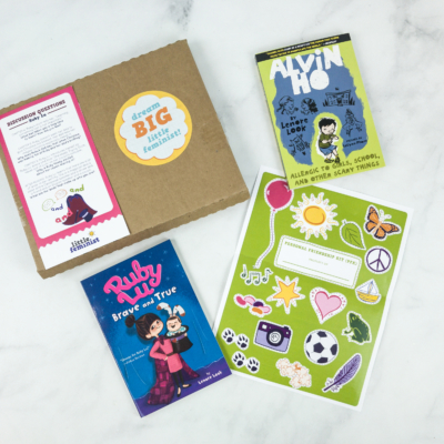 Little Feminist Book Club December 2018 Subscription Box Review + Coupon – 7-9 YEARS OLD
