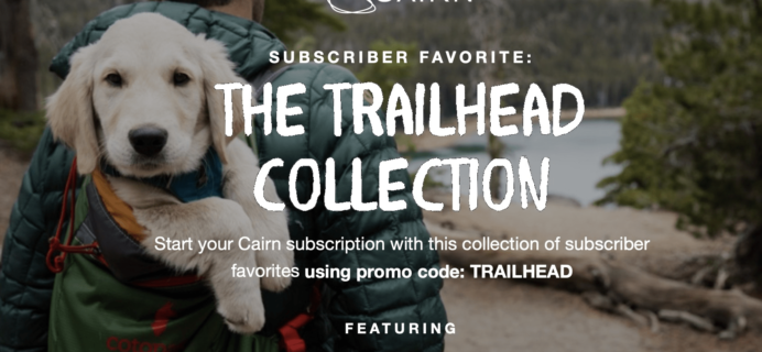 Cairn Coupon: Get The Trailhead Collection As Your First Box!