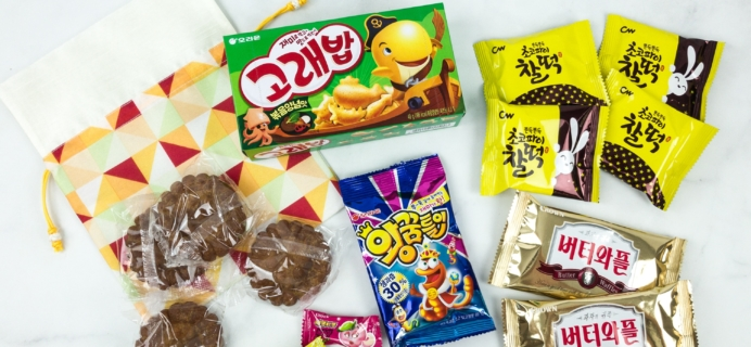 Korean Snack Box January 2019 Subscription Box Review + Coupon