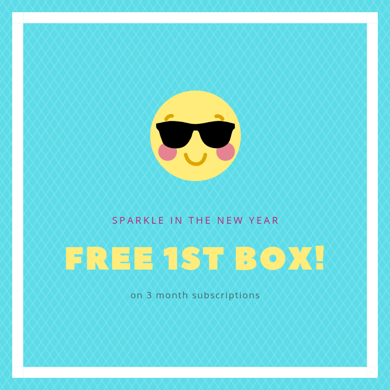 Your Bijoux Box New Year Sale: Get Your First Box FREE With 3 Month Subscriptions!