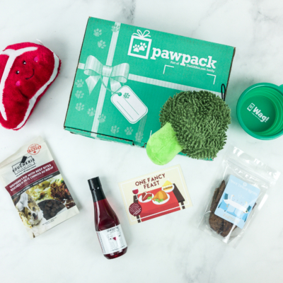 PawPack Dog Subscription Box Review + Coupon – November 2018