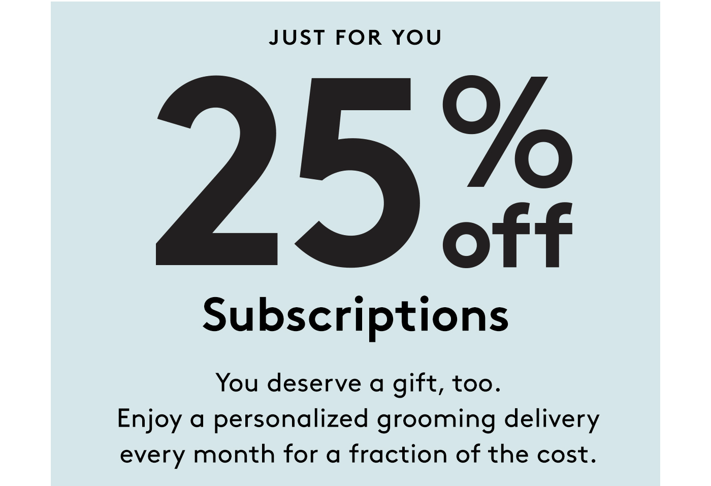 BirchboxMan Coupon: Save 25% On Subscriptions! LAST DAY!