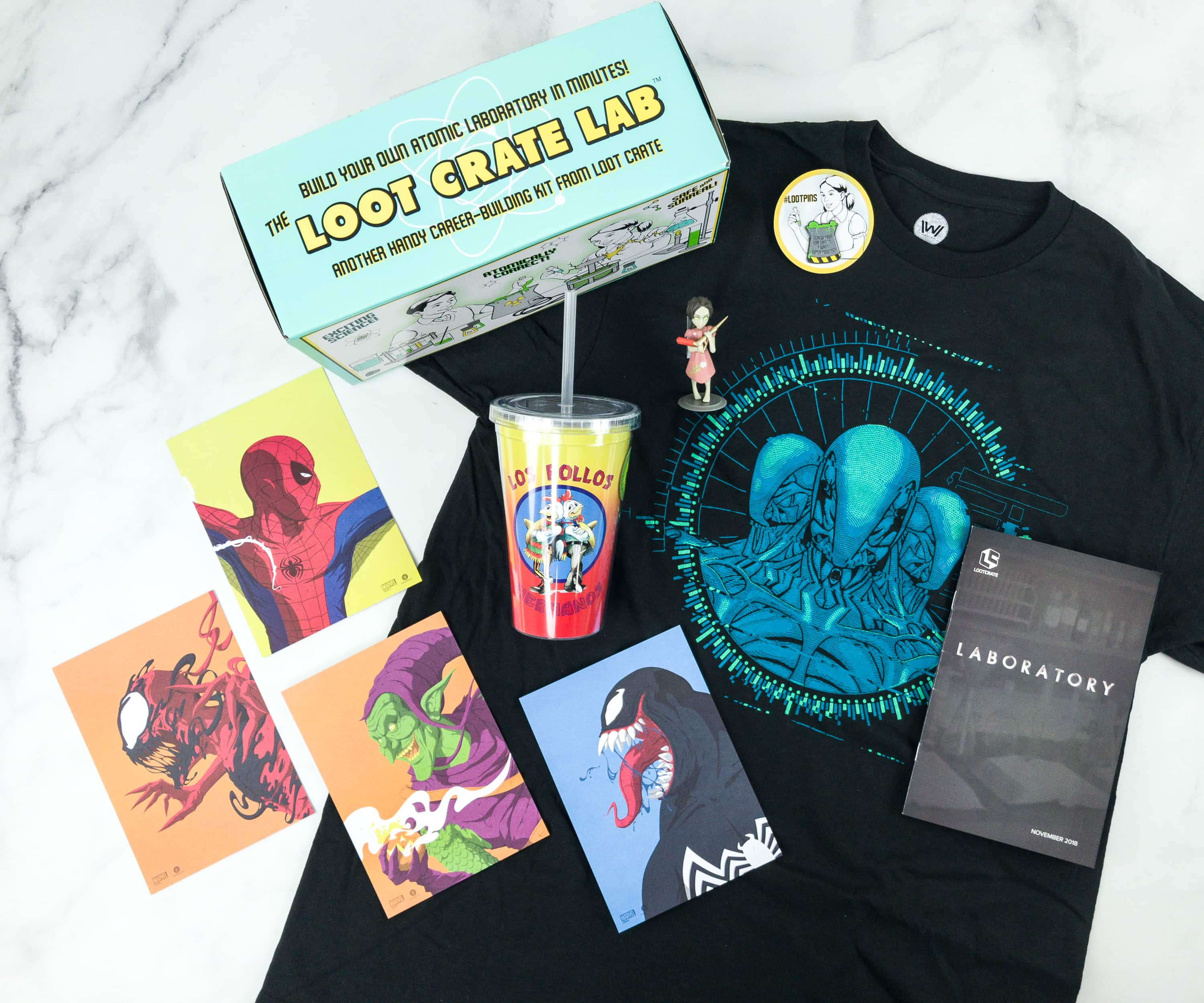 Loot Crate November 2018 Review + Coupons – LABORATORY