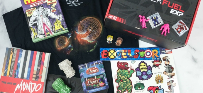 Geek Fuel EXP Winter 2018-2019 Subscription Box Review – Volume 3