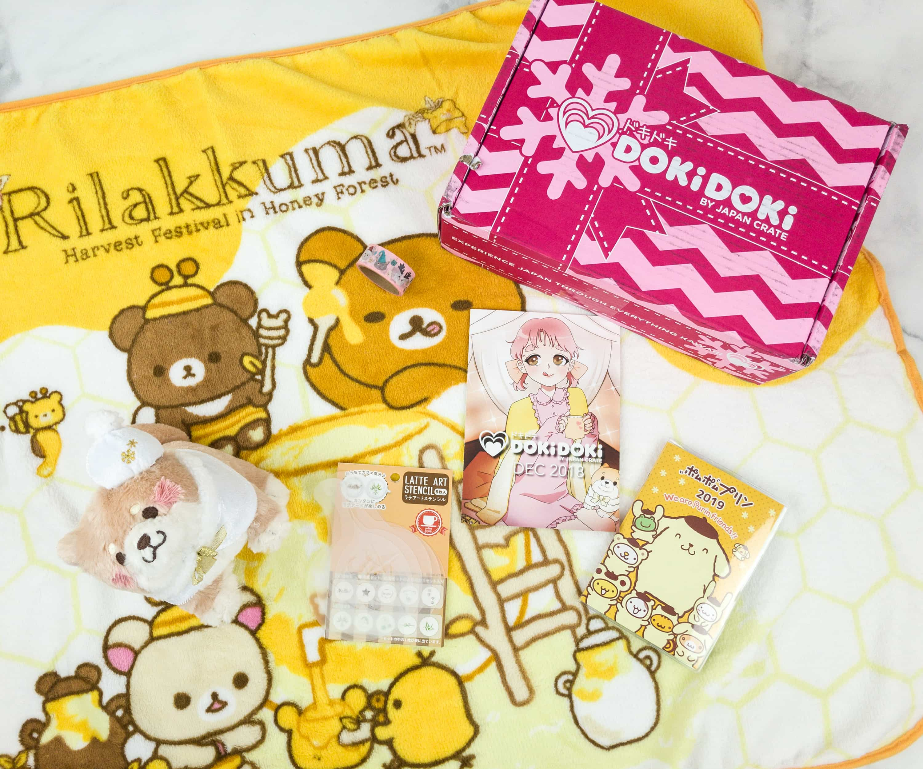 Doki Doki December 2018 Subscription Box Review & Coupon
