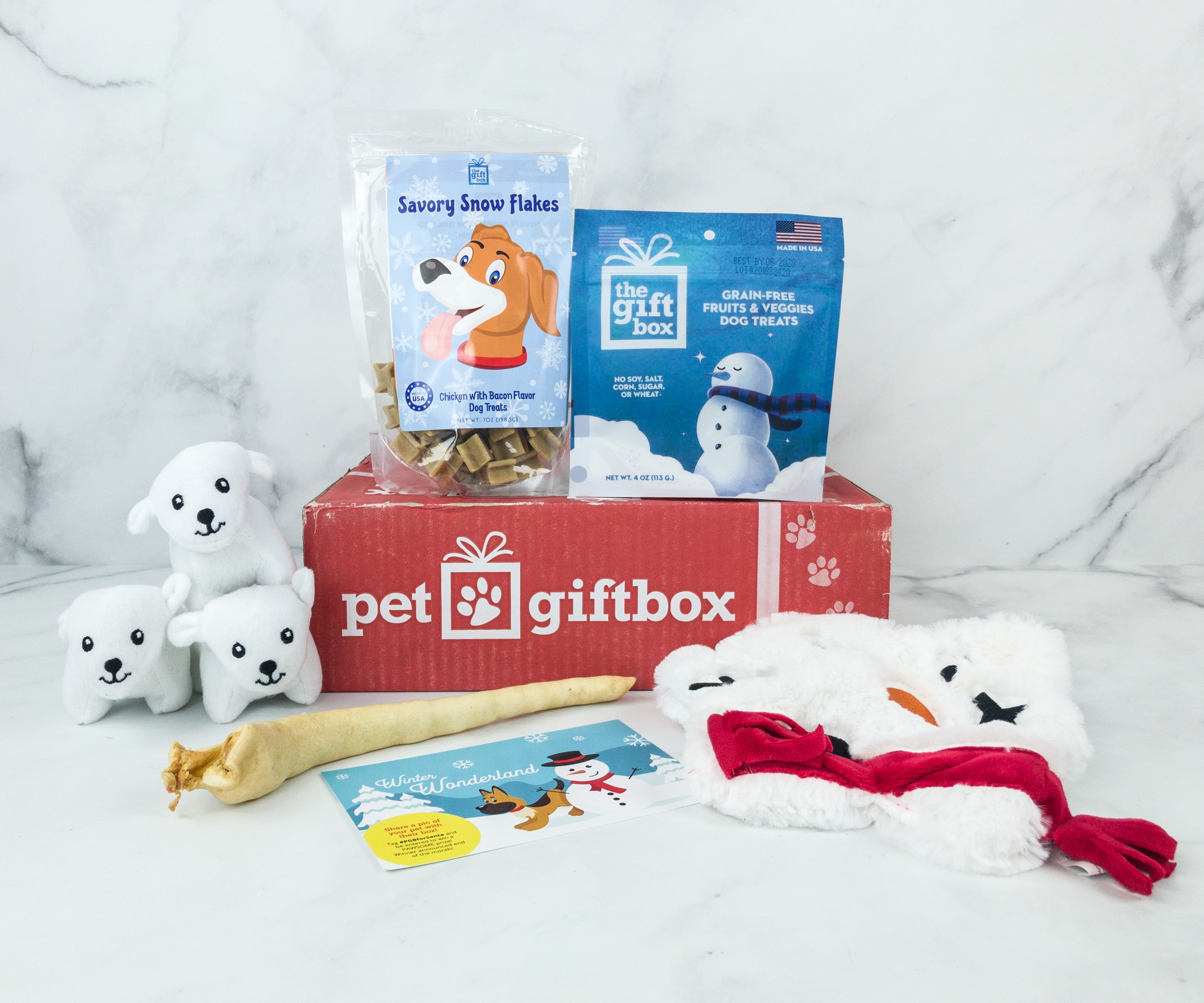 PetGiftBox December 2018 Subscription Box Review + 50% Off Coupon