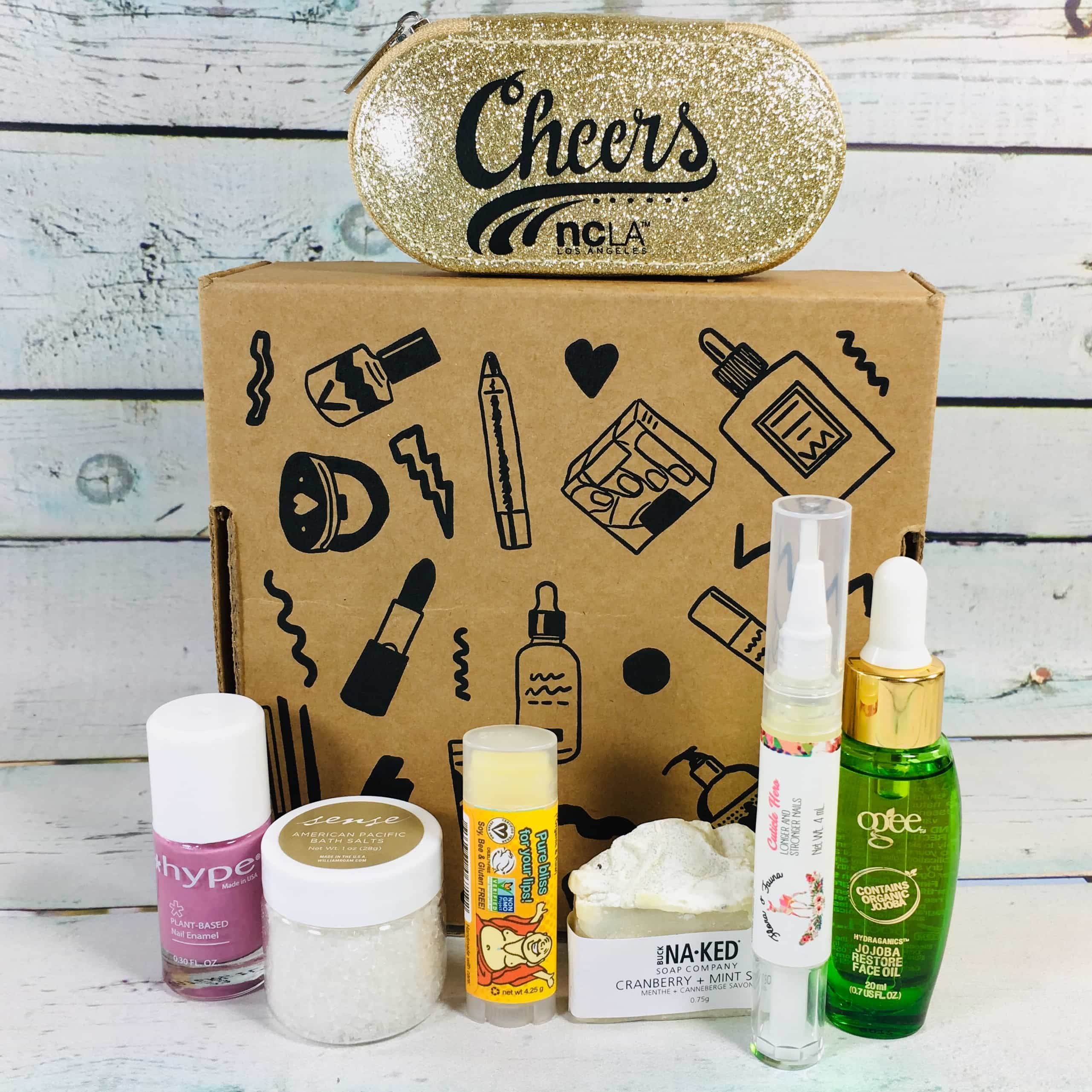 Vegan Cuts Beauty Box December 2018 Subscription Box Review