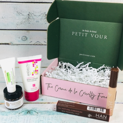 Petit Vour December 2018 Subscription Box Review & Coupon