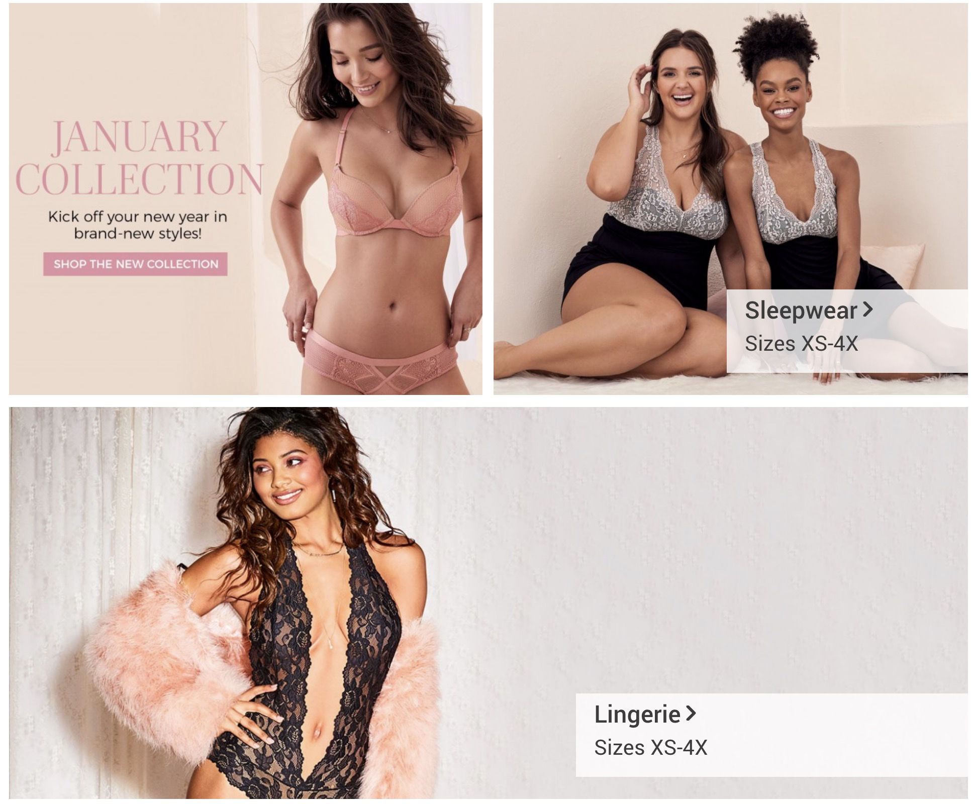 43bf68fd05 Adore Me January 2019 Selection Time + Coupon! - hello subscription