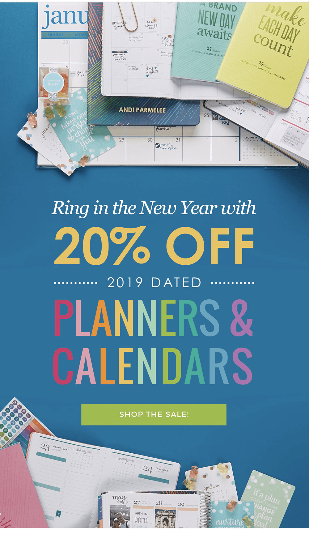 Erin Condren Coupon: Get 20% Off LifePlanners & Calendars!