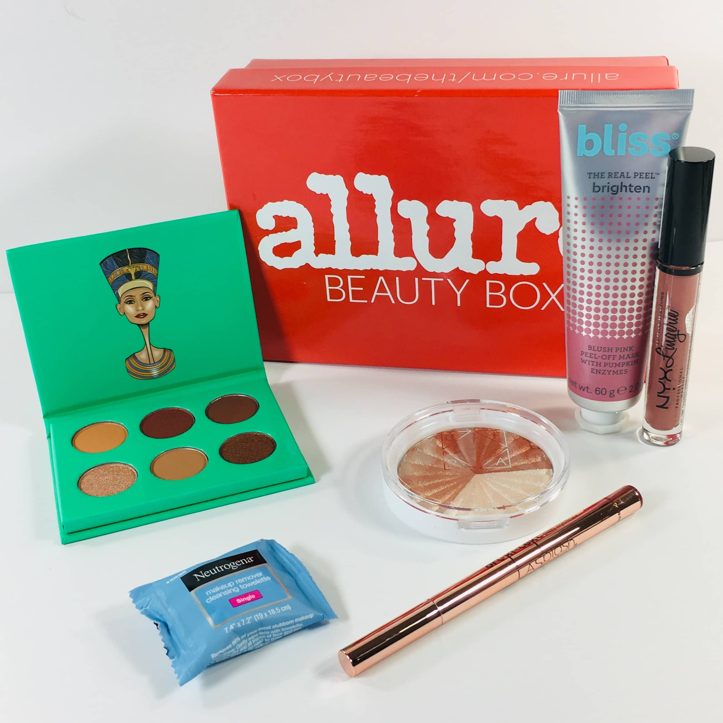 Allure Beauty Box December 2018 Subscription Box Review & Coupon
