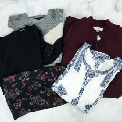 December 2018 Stitch Fix Subscription Box Review