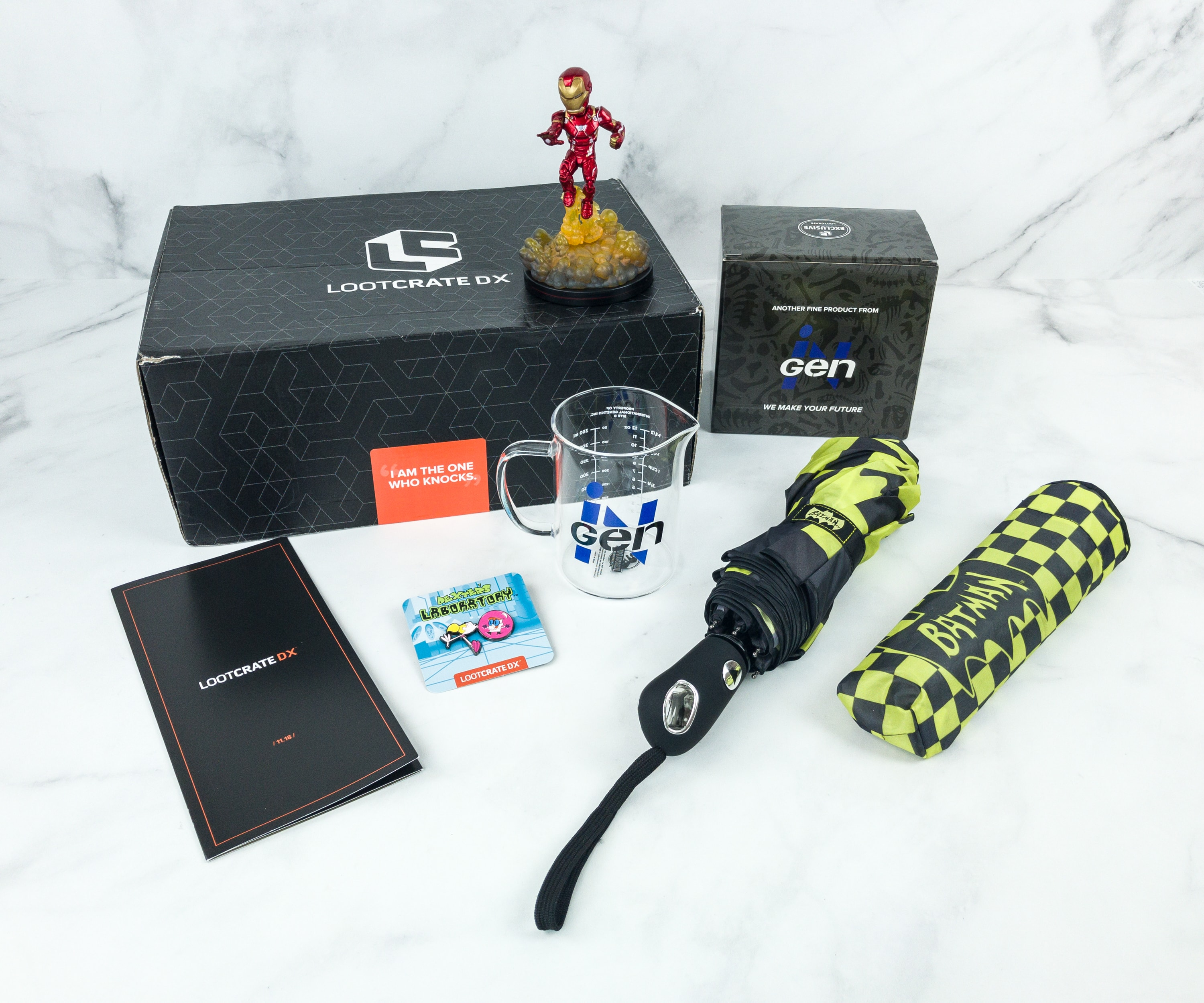 Loot Crate DX November 2018 Subscription Box Review & Coupon