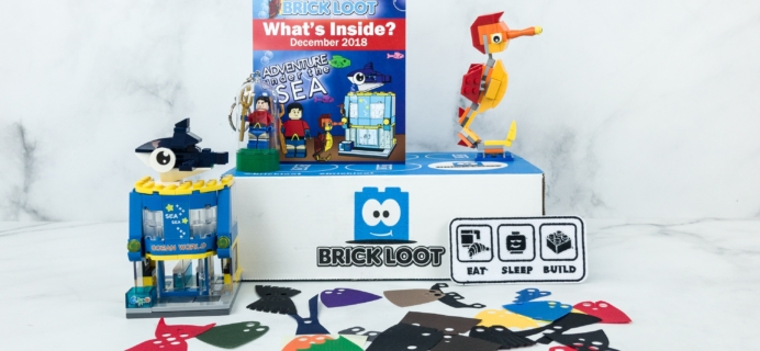Brick Loot December 2018 Subscription Box Review & Coupon