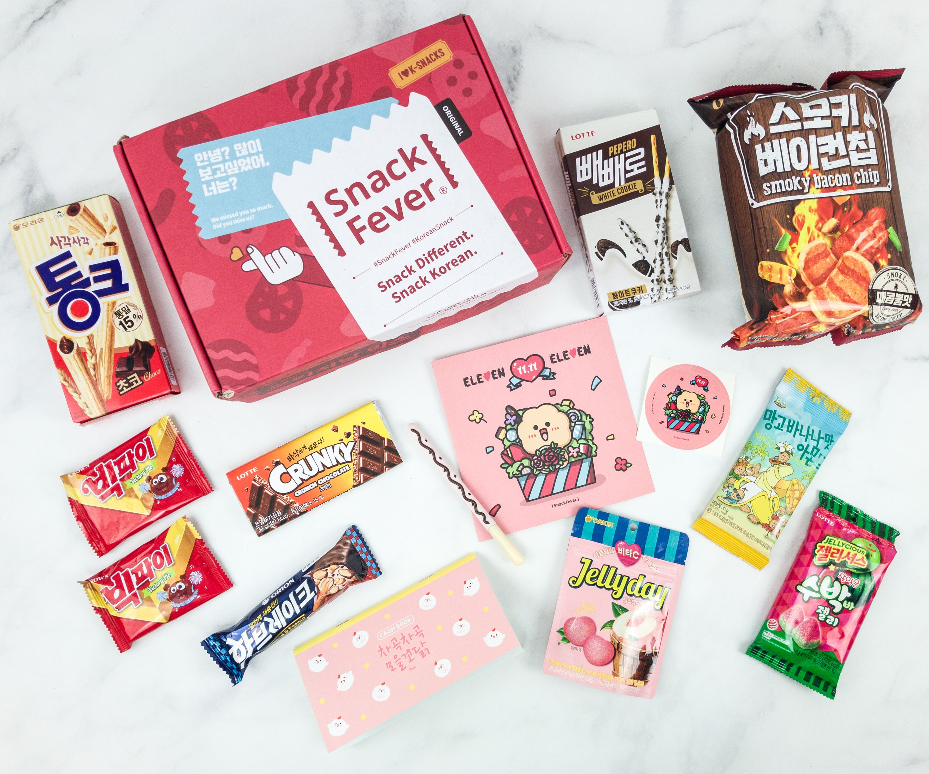 November 2018 Snack Fever Subscription Box Review + Coupon – Original Box