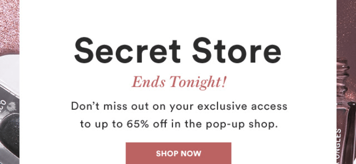 LAST DAY FOR Julep January 2019 Secret Store!