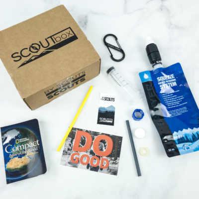 SCOUTbox December 2018 Subscription Box Review + Coupon