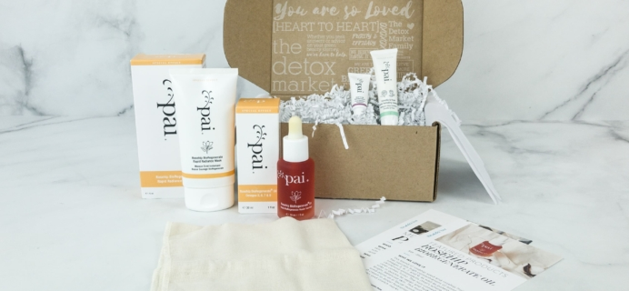 The Detox Box Subscription Box Review – December 2018