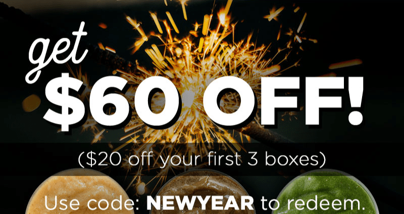 SmoothieBox New Year Sale: Get $60 Off!